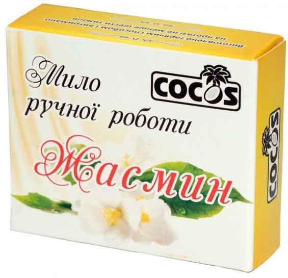 Мило ручної роботи Cocos Жасмин без барвників 100 г