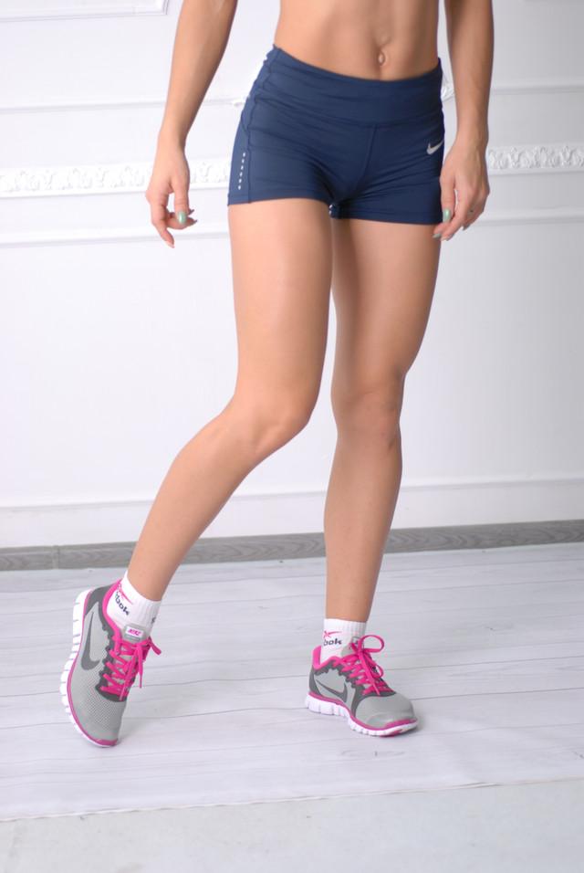 7dc6763d Женские шорты Nike 234790-2 синие код 017 Б, цена 400 грн., купить в ...