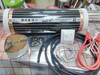 Пленочный теплый пол 6м.кв HiHeat (Южная Корея) комплект + терморегулятор с датчиком