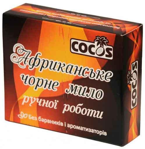 Мило ручної роботи Cocos Африканське чорне без барвників 100 г