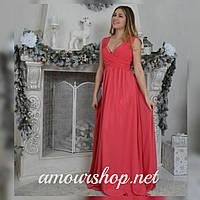 Длинное вечернее платье большого размера недорого 46, 48, 50, 52 р.