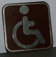 "Табличка ""Инвалид"""