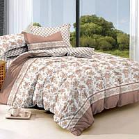 Семейное постельное белье с простыней на резинке 180*200*34, Миллениум, сатин