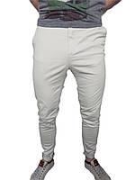 Штаны мужские H&M р-р 34 лёгкие (сток, б/у) зауженные, чино, chino, скини, Skinny, летние