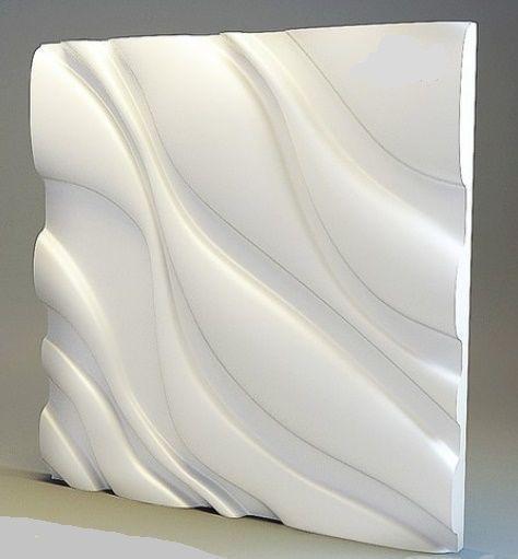"Пластиковая форма для 3d панелей ""Уют"" 50*50 (форма для 3д панелей из абс пластика)"