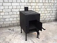 Печка для отопления и приготовления пищи сталь 3мм, фото 1