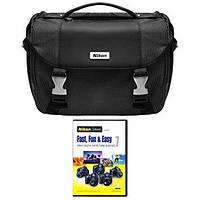 Сумка для камеры и аксессуаров Nikon DSLR Starter Kit with Nikon School Fast, Fun and Easy оригинал Гарантия!