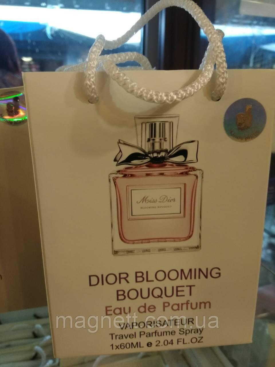 Женский парфюм в подарочной упаковке Miss Dior Cherie Blooming Bouquet 60 мл  - Интернет-Магазин 819374e17b395