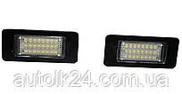 LED Подсветка номера BMW E82, F22, E46 M3, E92, E39, E60, F10, E70/X5, F80/M3