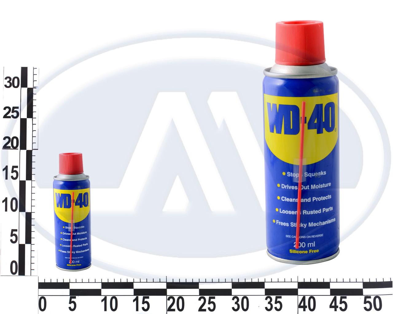 Смазка универсальная проникающая WD-40 200мл 08604