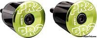 Заглушки руля PRO, зеленые