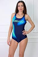 Купальник Rivageline(Arena) 8955 голубой с синим код 170Д