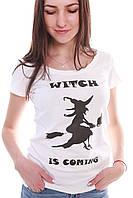 Футболка женская Ведьмочка