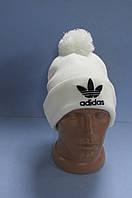 Шапка Adidas 30151 белая код 51H