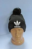 Шапка Adidas 30151 черная код 52H