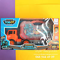 Трейлер Тобот: конструктор, трансформер: инструмент в коробке, 40,5-22-13 см