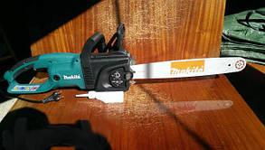 Цепная электропила makita uc4030a, визуальный контроль за уровнем масла, высокая скорость – 13,3 м/с, автомати