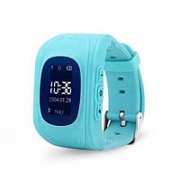 Смарт часы детские с gps трекером smart baby watch q50s blue