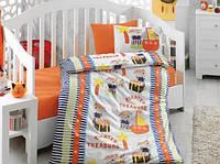 Детское постельное белье Cotton Box Hazine orange, фото 1