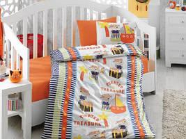 Детское постельное белье Cotton Box Hazine orange