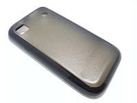 Чехол силиконовый бампер для Samsung i9000 Galaxy S черный
