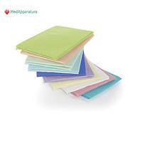 Салфетки медицинские / стоматологические Dry-Back (500 шт), голубые, зеленые