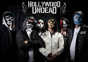 Плакат Hollywood Undead 01