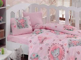 Детское постельное белье Cotton Box Mini Pembe