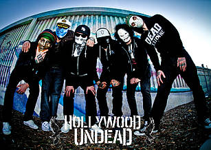 Плакат Hollywood Undead 02
