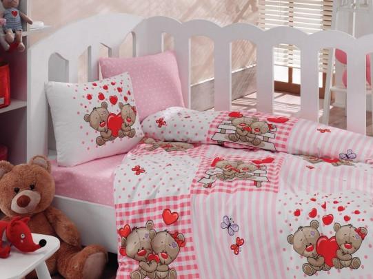 Детское постельное белье Cotton Box Yumi Kahve