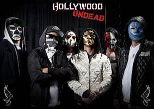 Плакат Hollywood Undead 04