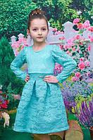 Детское Платье Адель мята р.116-128