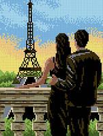 """Схема для вышивки """"Закат в Париже"""""""