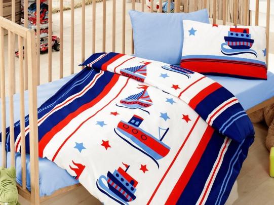 Детское постельное белье Cotton Box Denizci Mavi