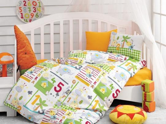 Детское постельное белье Cotton Box Safari Oranj