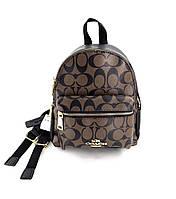 Женский рюкзак Coach brown