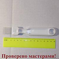Нож с 7-ю лезвиями, нержавеющая сталь, ручка пластик), фото 1