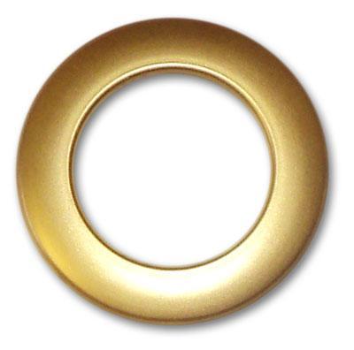 Люверс для штор пластик P 35/44 золото мат.