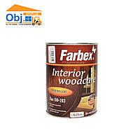 Лак ПФ-283 для внутренних работ Farbex Interior Woodcare (0,75л)