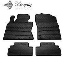 INFINITI Q50 2013- Комплект из 4-х ковриков Черный в салон