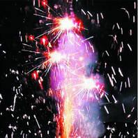 Треск цветной, пиротехнический фонтан, KOMETA (Видео)