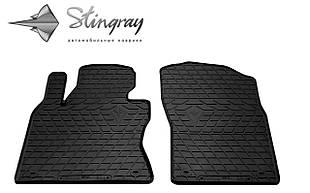 INFINITI Q50 2013- Комплект из 2-х ковриков Черный в салон