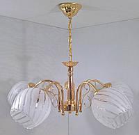 Люстра потолочная подвесная на 5 лампочек YR-8617/5