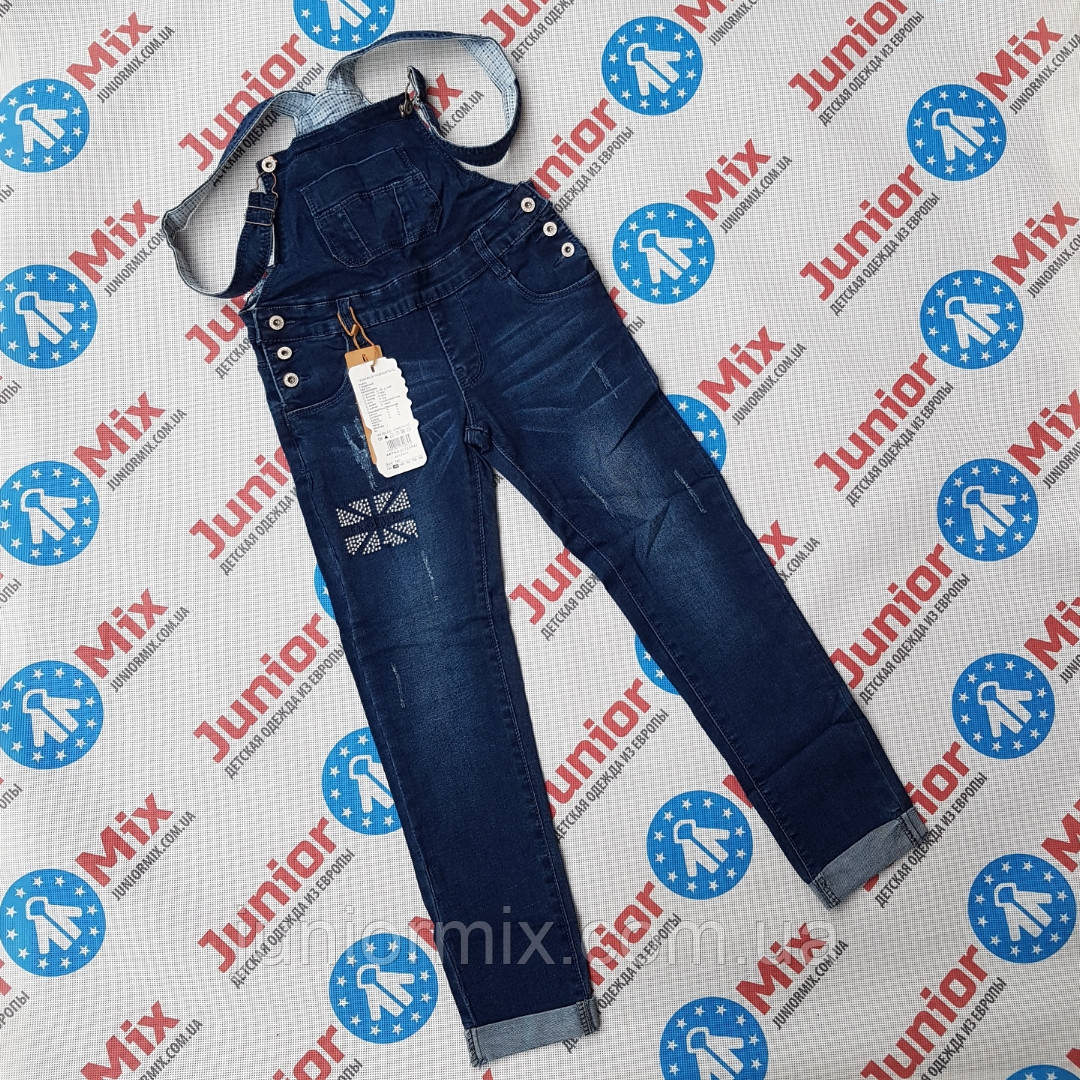 Оптом подростковые джинсовые комбинезоны для  девочек GRACE