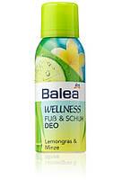 "Дезодорант для ног и обуви Balea ""Лимонник и мята"", 100 мл"