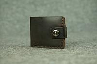 Классическое мужское портмоне (с карманом для мелочи) |10405| Коричневый