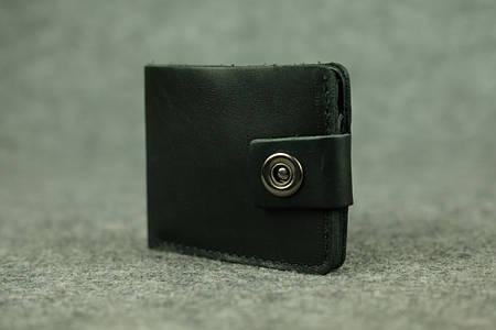 Классическое мужское портмоне (с карманом для мелочи)  10406  Черный