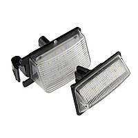 LED Подсветка номера Nissan GT-R 08-, 350Z 06-,Infiniti G35/G37 06-
