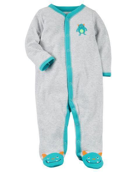 Человечек хлопковый Carters для новорожденного мальчика до 55 см