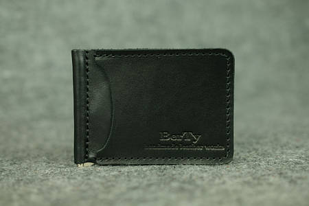 Зажим для денег |10601| Винтаж | Черный